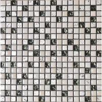 Stakleni Mozaik Belo/Sivi A1  300x300