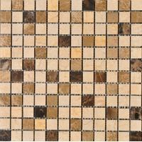 Mozaik pločice Kameni Mozaik PT302 Braon/Bež  305x305