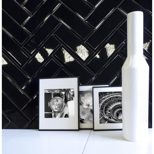 Keramičke pločice Biselado Negro 100x200