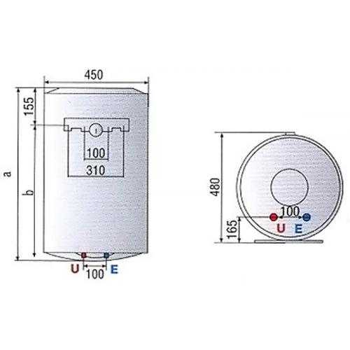 Ariston Bojler Pro 1 R 50l
